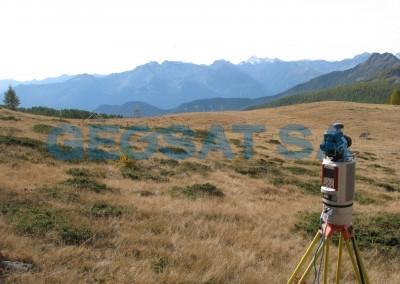 Aoste: relevés par drone et laser