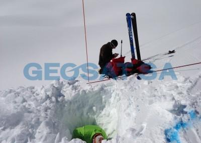 Rechy: Mesures de la hauteur de neige