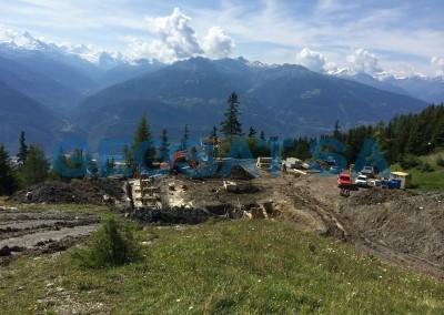 Montana: Télésiège de cabane de Bois