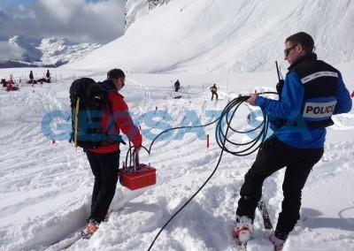 Valais: Recherche avalanche