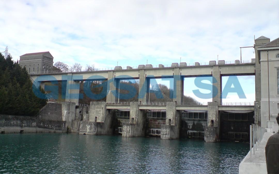 Barrage de Chancy : monitoring
