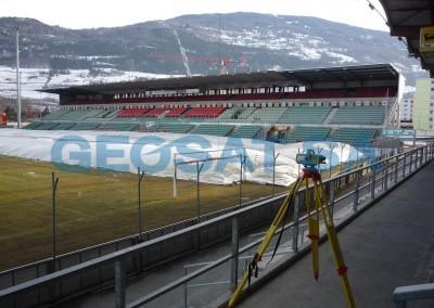 Sion : Surveillance géodésique du stade de Tourbillon