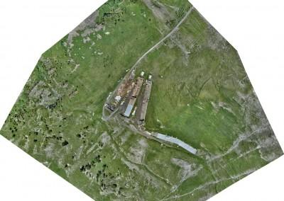 Alpage Riondaz : Vol drone
